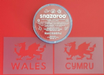 Welsh Dragon  face  paint set  6 Nations Wales rugby reusable   St. Davids Day